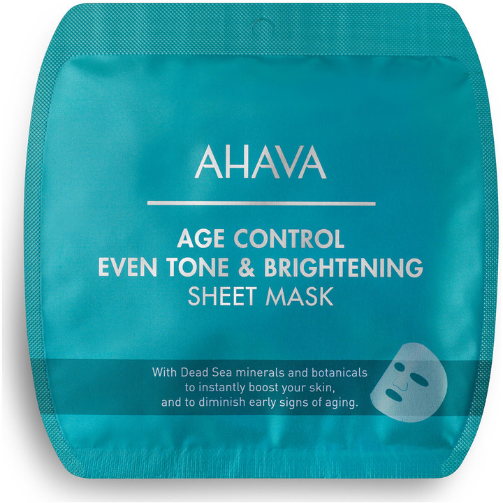 Thumbnail for your product : Ahava Age Control Even Tone & Brightening Sheet Mask