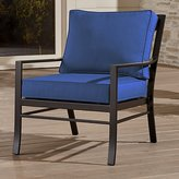 Crate & Barrel Regent Lounge Chair with Sunbrella ® Cushion