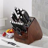 Crate & Barrel Calphalon Contemporary 20-Piece Knife Block Set with SharpINTM Technology
