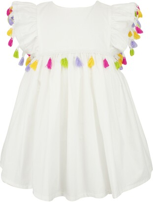 Popatu Tassel Pinafore Dress