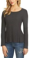 CeCe Women's Chevron Stitch Sweater