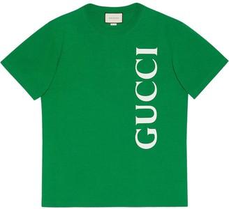 Gucci logo oversized T-shirt