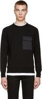 Rag & Bone Black Aviator Pullover