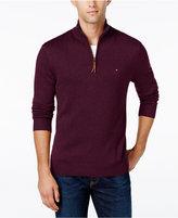 Tommy Hilfiger Signature Solid Quarter-Zip Sweater