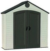 Lifetime Outdoor Storage Shed 8' x 2.5' - Gray And White