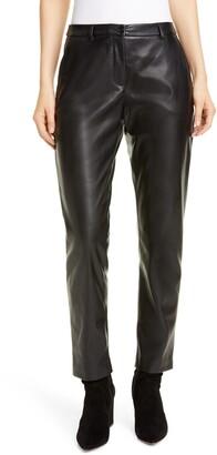 Seventy Faux Leather Pants