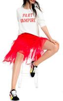 Wildfox Couture Part Vampire Sweatshirt