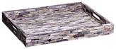 Mela Artisans Reverie Grey Decorative Tray