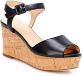 Cole Haan Gillian Leather Wedge Sandal