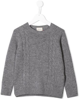 Gucci Kids Crew Neck Sweater