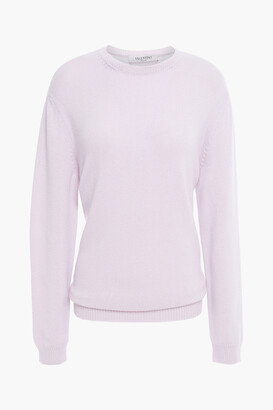 Valentino Tie-back Cutout Cashmere Sweater