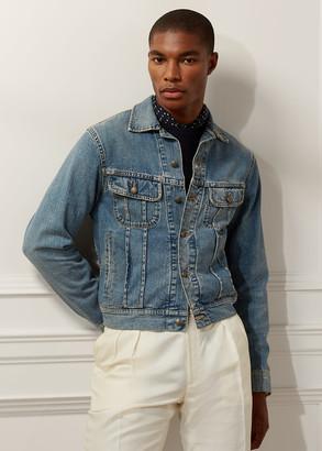Ralph Lauren Slim Fit Denim Trucker Jacket