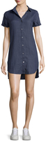 James Perse Solid Shirt Dress