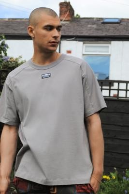 adidas FS GRP 2 Grey T-Shirt - Grey XL at Urban Outfitters