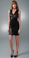 Leather Curve Dress