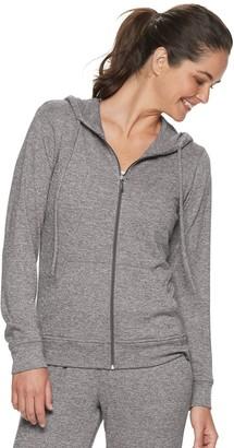 Adrienne Vittadini Women's Zip-Up Hoodie