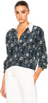 Chloé Starry Eyed Flower Print Blouse
