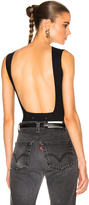 Maison Margiela Technical Stretch Jersey Backless Bodysuit