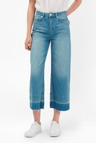 French Connection The Detroit Wide Leg Crop Jeans