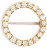 Bony Levy 20th Anniversary Large Diamond Circle Pin