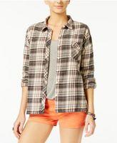 Volcom Juniors' Oldie-N-Goodie Plaid Shirt