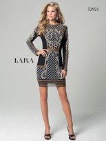 Lara Dresses - 32921 Dress In Black Gold