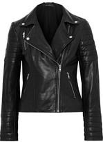 Muu Baa Muubaa Cordata Quilted Leather Biker Jacket