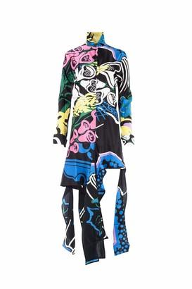 J.W.Anderson Foxglove Print Shirt Dress