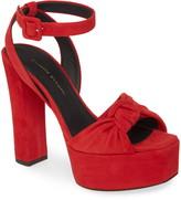 Giuseppe Zanotti Platform Block Heel Sandal