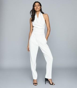 Reiss Adrienne - Halter Neck Top in White