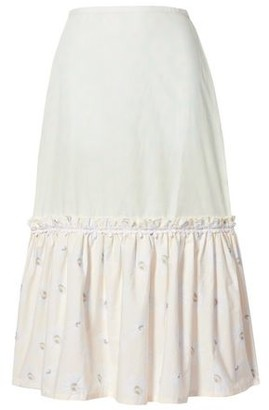 Solid & Striped 3/4 length skirt