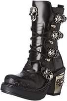 New Rock Women's M 8366 S1 Boots Black Size: 4