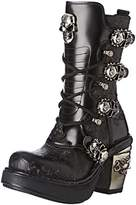 New Rock Women's M 8366 S1 Boots Black Size: 6.5