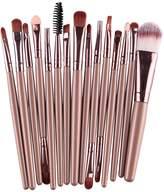 Anself 15PCS Professional Makeup Brush Eye Shadow Eyebrow Lip Tools Wool Design Pinceau Maquillage Professionnel