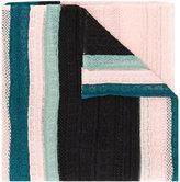M Missoni striped scarf - women - Cotton/Polyamide - One Size