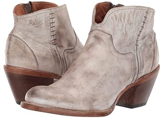 Lucchese Ericka (Distressed White) Cowboy Boots