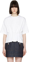 Kenzo White Drawstring T-shirt
