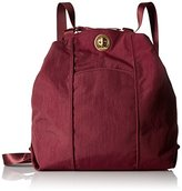Baggallini Women's Gold International Mendoza Backpack Scarlet