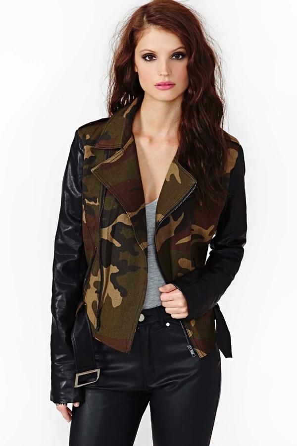 Nasty Gal Underground Army Jacket