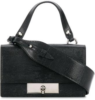 Alexander McQueen mini Skull Lock tote bag