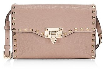 Valentino Small Studded Leather Shoulder Bag