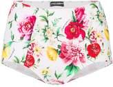 Dolce & Gabbana high waisted floral briefs