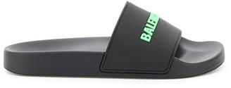 Balenciaga pool slide rubber mules