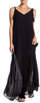 Line & Dot Musee Pleated Maxi Dress