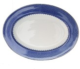 Williams-Sonoma Williams Sonoma Mottahedeh Platter, Blue Lace