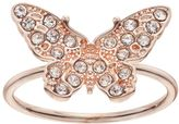 Lauren Conrad Pave Butterfly Ring