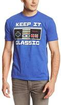 Nintendo Keep It Classic Adult Heather Blue T-Shirt