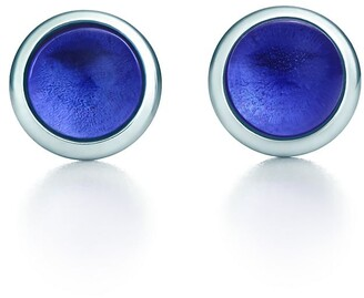 Tiffany & Co. Elsa Peretti Color by the Yard earrings in sterling silver with tanzanites