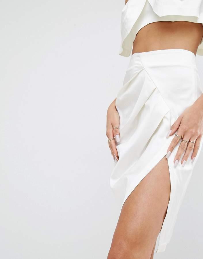 KENDALL + KYLIE Front Split Pencil Skirt