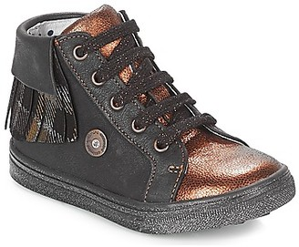 Catimini LOULOU girls's Shoes (High-top Trainers) in Black